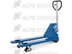 Paletizační vozíky s atypickými vidlemi