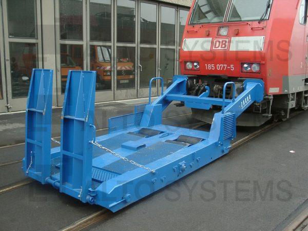 Posunovací zařízení WRG – max. hmotnost tažené soupravy do 300 t