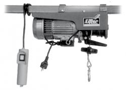 Stavební vrátek BRAUN HT 125 a HS 200 - 250/400 kg