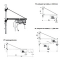 Stavební vrátek BRAUN HT 125 a HS 200 – 250/400 kg