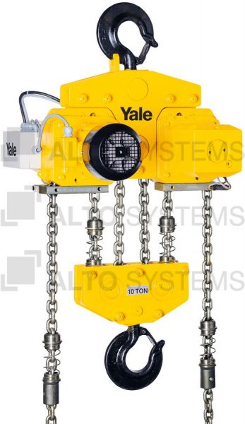 Elektrický kladkostroj – Yale CPE2 – do 10.000 kg