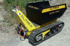 Elektrické pásové kolečko sklápěč Alitrak DCT – 300