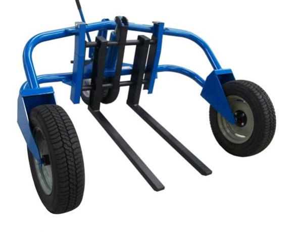 Terénní ruční nízkozdvižný vozík H-2