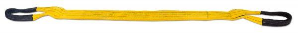 Zvedací pás plochý s textilními oky – čtyřvrstvý HBQ