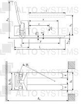 HU ES 10A s elektro-hydraulickým zdvihem