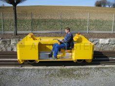 Posunovací zařízení ZAGRO E – MAXI XL – tažná síla do 700 t