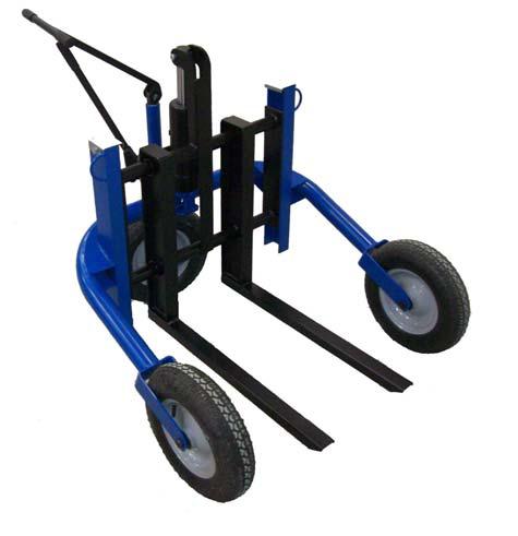 Terénní ruční nízkozdvižný vozík M500/750