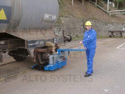 Posunovací zařízení MINI - tažná síla do 150 t