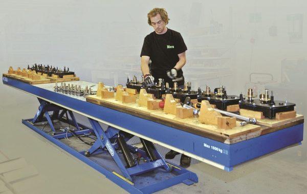 Zvedací stůl, plošina – Hymo Optima MXT