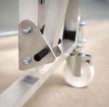 Přenosný hliníkový portálový jeřáb – COMEGE PADC