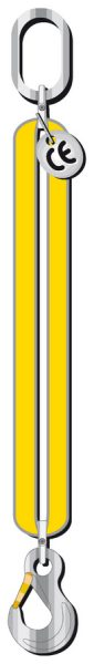 Jednopramenný textilní úvazek z nekonečných pásů RSG