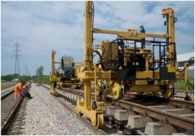Stroje na výstavbu železnic