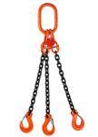 Řetězový závěs čtyřpramenný – zakončený vidlicovým hákem s pojistkou CSH