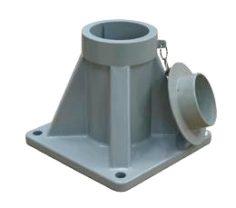 Přenosný hliníkový otočný jeřáb – COMEGE CMU 500T