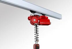 Rychlozdvihací elektronický manipulátor QLR - pro kolejnicové systémy