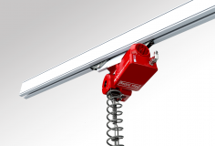 Rychlozdvihací elektronický manipulátor QLR – pro kolejnicové systémy