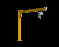 Sloupový otočný jeřáb - C profil LJ