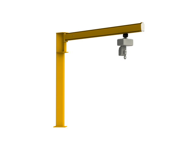 Sloupový otočný jeřáb – C profil LJ