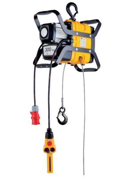 Elektrický průběžný naviják