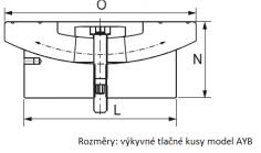 Rozměry AYB nákres