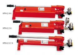 Ruční pumpy pro dvojčinné válce model HPH
