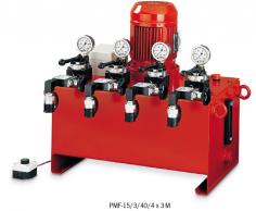 Víceproudé elektro-hydraulické agregáty model PMF