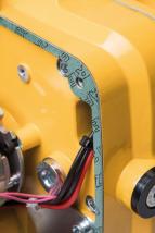 Vnitřní vedení kabelů - vysoce kvalitní těsnění