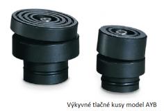 Výkyvné tlačné kusy model AYB